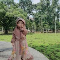 Gamis Anak Tebaru 2021 Usia 2 3 Tahun Kayla Kids Baju Syari Murah