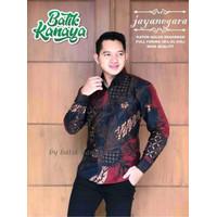 Baju Batik Pria Modern JAYANEGARA Lengan Panjang Reguler Fit Furing - M