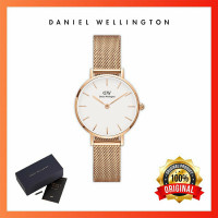 Jam tangan Dw wanita Melrose White Original - 36mm