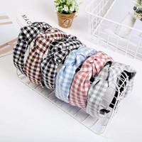 Bando simpul wanita korea dewasa fashion cantik bandana import premium