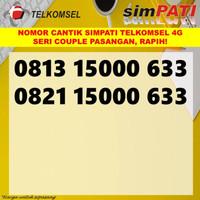 Nomor cantik simpati telkomsel 4G nomer kartu perdana pasangan couple