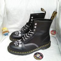 sepatu boots dr martens 1460 CBGB EB OMFUG docmart rolled mods black