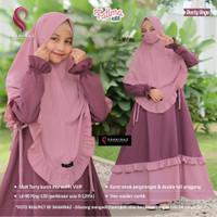 Baju Gamis Anak Perempuan Set Hijab Syari FATIMAH KIDS ORI SHAHINAZ