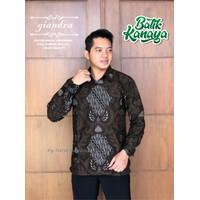 Baju Batik Pria GIANDRA By Kanaya Lengan Panjang Full Furing