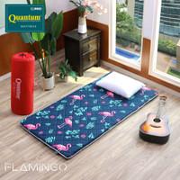 JTR Quantum Kasur Lantai Motif Flamingo 100x195 Busa Lembaran Premium