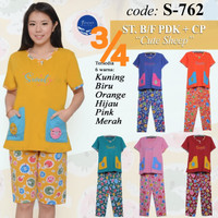 Baju Tidur FOREVER Sweet Concept ¾ Body Fit S 762
