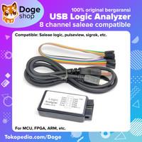 USB Logic Analyzer Analyze 8CH 24MHz for Arduino AVR ARM FPGA Saleae