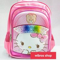 tas ransel anak SD Hello Kitty besar / Sofia the first
