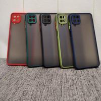Samsung Galaxy A12 2020 Matte Acrylic Silikon Hybrid Case Shockproof