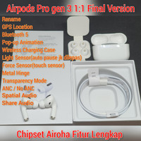 Airpods Pro gen 3 Final Version 1:1 Super non Apple Bluetooth TWS