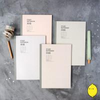 Light Shade Series Grid Notebook A5 dan B5 / Buku Catatan Kotak
