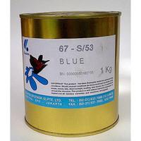 Cat Sablon Gelas COATES BLUE BIRU Tinta Sablon Gelas COATES 1 Kg