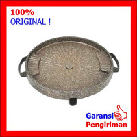 Grill Pan Marble Bulat