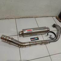 knalpot Racing DBS satria Fu Karbu Vixion R15 MX KING Sonic mx135