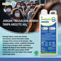 Anolyte AG Hand & Face Sanitizer 1000 ml / 1 liter