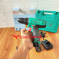 DCA ADJZ1202E Cordless drill driver mesin bor baterai 10.8V