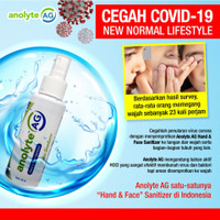 AnolyteAG Hand & Face Sanitizer 100 ml (HOCl)