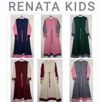 gamis anak/ Renata kids/ baju muslim anak 7 - 13 th