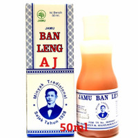 Minyak Ban Leng 50ml - Jamu Tradisional Herbal Batuk, Pilek