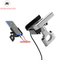 HOLDER HP SEPEDA HP MOTOR phone holder STANG BAR 360 Besi Aluminium