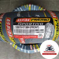 ban aspira tubelles ring 17 ukuran 120 70 sportivo premio pirelli