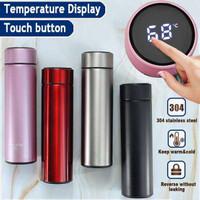 304 Termos LED Thermos Suhu Temperatur Botol Minum Air Panas Stainless