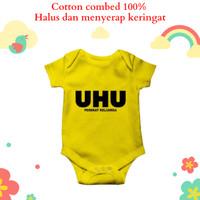 Baju jumper bayi karakter unik dan lucu logo UHU