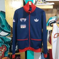 jaket second adidas track jacket bayern munchen