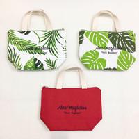 Mini Tote Bag Canvas / Totebag Kanvas/ Tote Bag Bordir /Custom Totebag