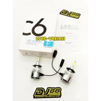 Lampu LED H7 C6 utama ninja 250 karbu ninja 250 fi old z250 r25