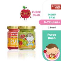 Pureeland Baby Puree Buah / MPASI Bayi Organik / Makanan Bayi / Snack