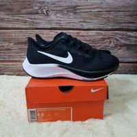 Sepatu Sneakers Nike Air Zoom Pegasus 37 Turbo Black White