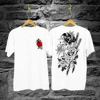 Baju Kaos Samurai Geisha/ Pria Wanita cotton30s