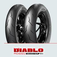 Ban Pirelli Diablo Rosso Scooter SC 120/80 Ring 12 R Soft Compound