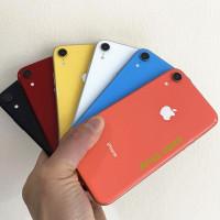 iPhone XR 64GB/128GB/256GB SECOND ORIGINAL 100%   MULUS NORMAL FULLSET