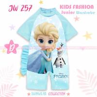SWIMWEAR JW257 - Frozen (baju renang anak import) - 10-11 tahun