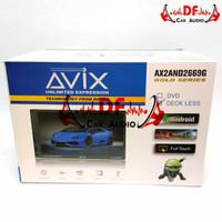 Headunit Doubledin Android Deckless AVIX 7inch RAM 2Gb ROM 16Gb