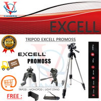 TRIPOD EXCELL PROMOSS BLACK NEW - EXCELL PROMOSS NEW - FREE HOLDER HP
