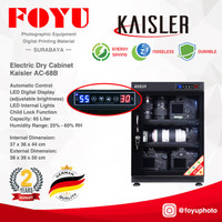 Dry Box Cabinet Lemari Kering Simpan Kamera 65 Liter Kaisler AC-68B