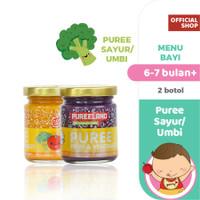 Pureeland Baby Puree Sayur dan Umbi / MPASI Bayi Organik