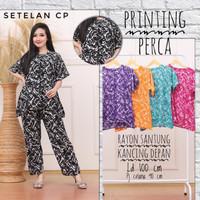 Baju Tidur Batik / Setelan CP / Daster batik