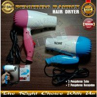 Pengering rambut Hairdrayer mini lipat