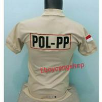 kaos kerah satpol pp/t-shirt polo