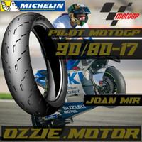 Ban MICHELIN PILOT MOTOGP 90/80-17 Motor Bebek Ban Tubeless
