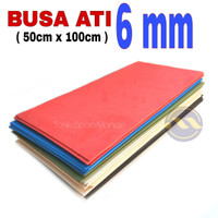 Busa Ati 6mm (50x100cm) / Spon Eva / Busa Hati / Foam Art / Busa ati