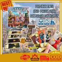 Citadels 2016 Edition (Remake) Board Game Permainan Kartu Keluarga