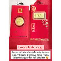 Angpao Emas 24 Karat Sincia LUCKY FISH 2021 0.20gr