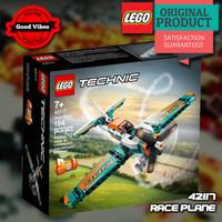 LEGO Original TECHNIC 42117 Race Plane - Mainan Anak Pesawat Balap