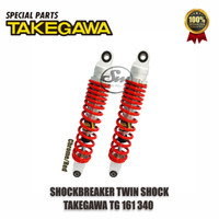 Shockbreaker Motor / Twin Shock TG161 340MM Takegawa Non Click