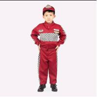 Baju / stelan / kostume profesi pembalap anak laki laki